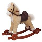 качалка-пони с колесиками Pituso Panadero Бежевый