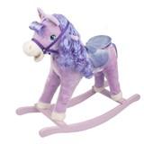 качалка-пони Pituso Panadero Фиолетовый