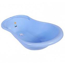 ванночка Ангел с термометром и сливом Голубая
