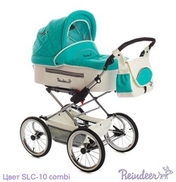 Детская коляска Reindeer Style Leather 3 в 1 цвет SLC-10 combi