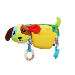 Игрушка-карман Собачка на коляску/кроватку Uviton