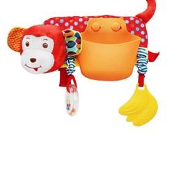 Игрушка-карман Обезьянка на коляску/кроватку Uviton