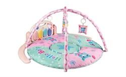 Развивающий коврик AmaroBaby Splendid Bear Розовый