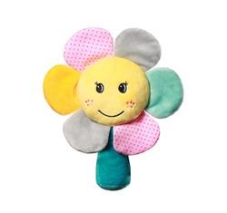 Мягкая погремушка  Радужный цветочек  Baby Ono
