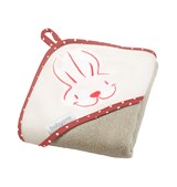 Полотенце для купания Smile Заяц (серое)