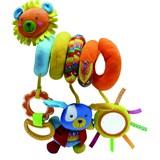 Игрушка-спиралька Biba Toys Лев и Зая