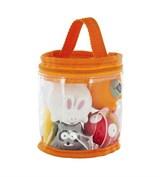 Набор игрушек для ванны «Веселые друзья» Babymoov